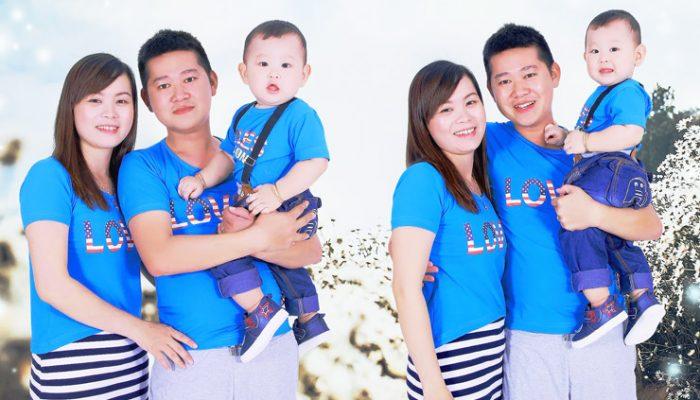 chụp ảnh gia đình tại Duyên Dáng Studio Cần Thơ
