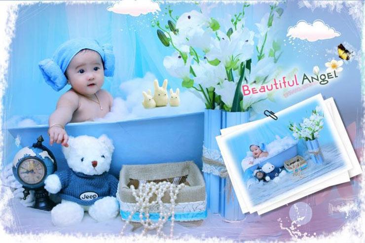 Chụp hình em bé Cần Thơ