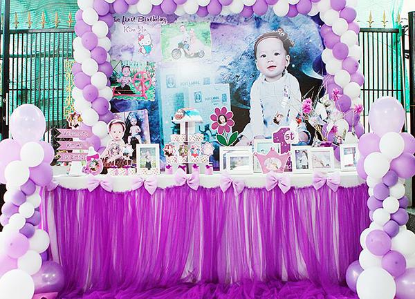 Trang trí sinh nhật cho bé