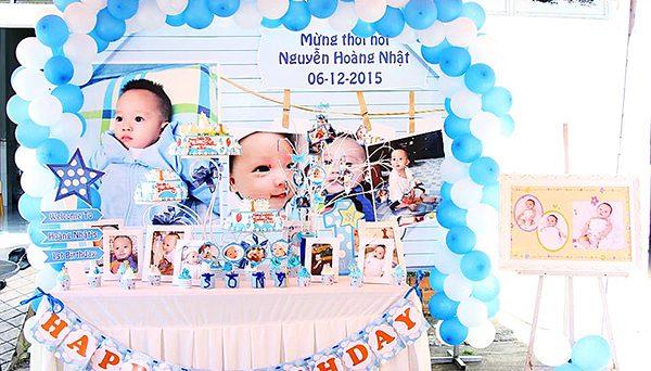 Dịch vụ trang trí tiệc sinh nhật Cần Thơ